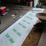 Burnsville, MN Waterproofing - During -3