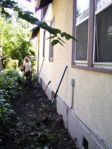 Minneapolis Basement Waterproofing by AAA Reicks Waterproofing - Before