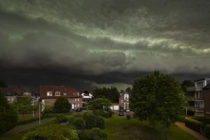 Thunderstorm Over Minneapolis