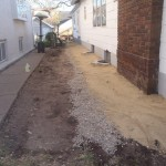 After French Drain Installation