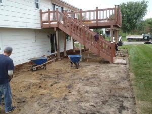 Bad Patio Removed - Savage, MN