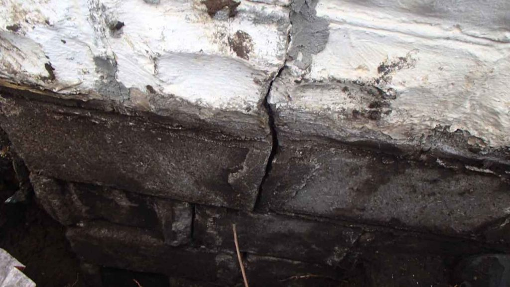Hidden Foundation Cracks
