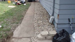 Finished exterior basement waterproofing system