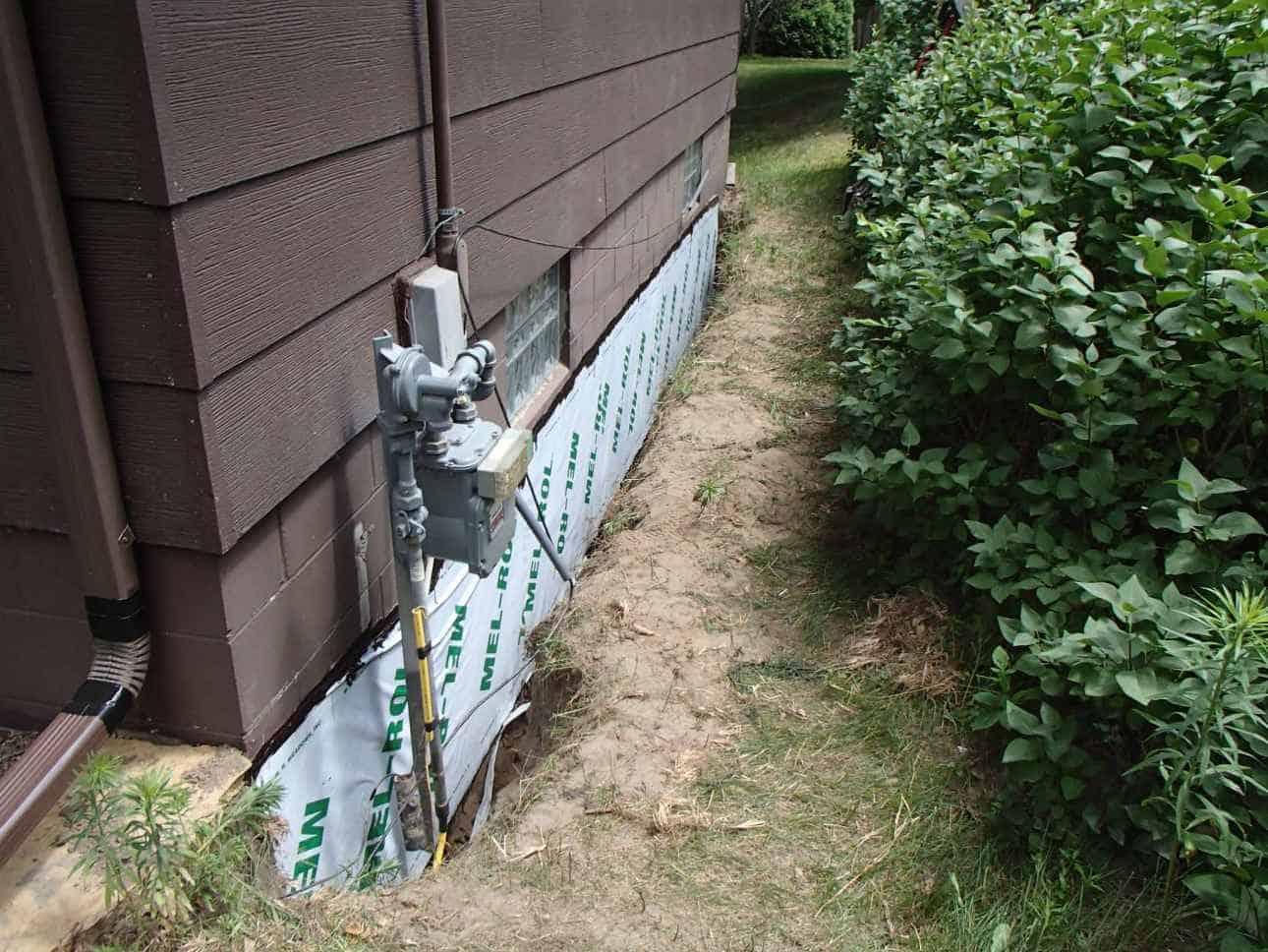 Waterproofing sheet membrane