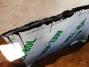 Area Sealed With Sheet Membrane
