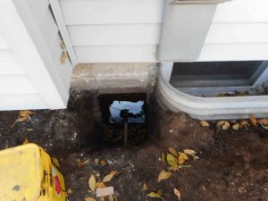 Minneapolis Basement Hole Found Around Electric Line By Well