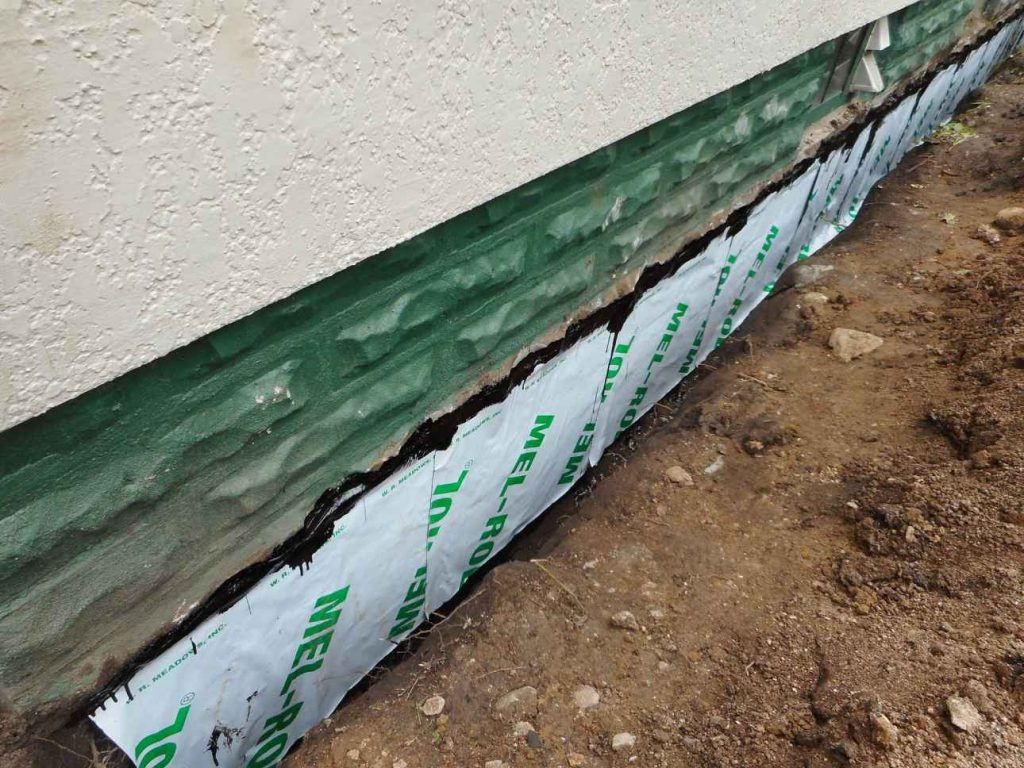 Edina Foundation Sealed With Sheet Membrane